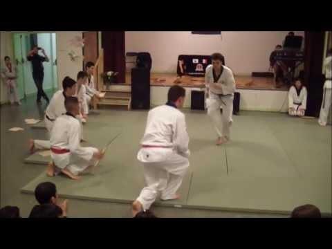Démonstration Taekwondo pour soirée association PNK