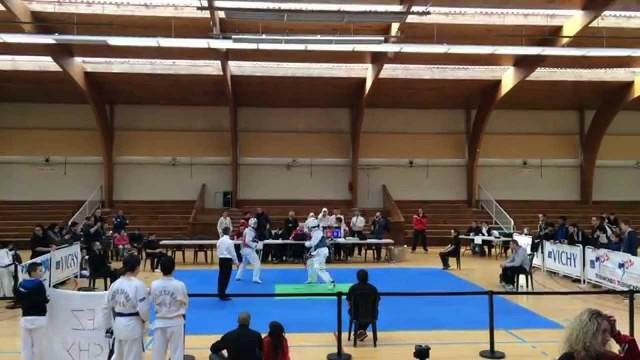 Championnat d'auvergne Taekwondo Combat – 68kg 2015