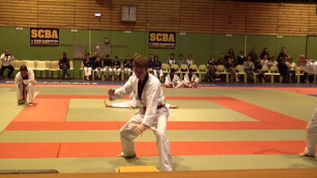 Festival des arts martiaux 2014 Taekwondo Maître Hu Kwang Sun